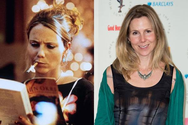 Sally Phillips em 2001 e atualmente (Foto: Divulgação)