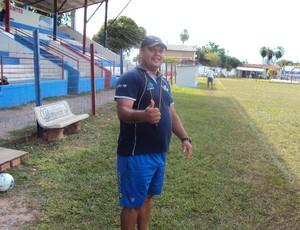 Técnico Mauro Marino, do Aquidauanense (Foto: Divulgação/FDBCom)