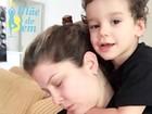 Bárbara Borges mostra versatilidade em momento mãe: 'É fácil não'