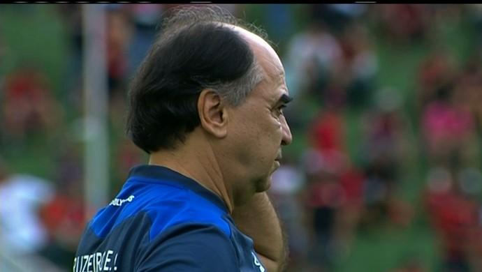 Marcelo Oliveira, técnico do Cruzeiro (Foto: Reprodução / Premiere)