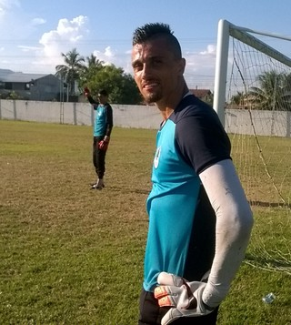 Milton Raphael, goleiro do Boavista (Foto: Juan Andrade/ GloboEsporte.com)