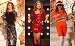 Looks exuberantes são o forte de Chayene (Cheias de Charme / TV Globo)