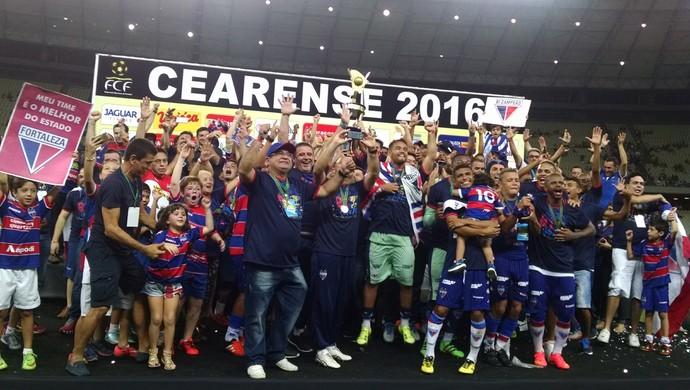 Fortaleza x Uniclinic Campeonato Cearense Arena Castelão (Foto: Juscelino Filho)
