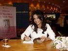 Sula Miranda lança autobiografia em São Paulo