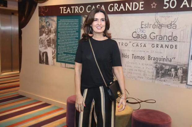Fátima Bernardes (Foto: Daniel Pinheiro/AgNews )
