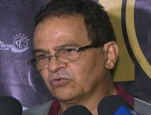 Francisco Diá, Campinense (Foto: Reprodução / TV Paraíba)