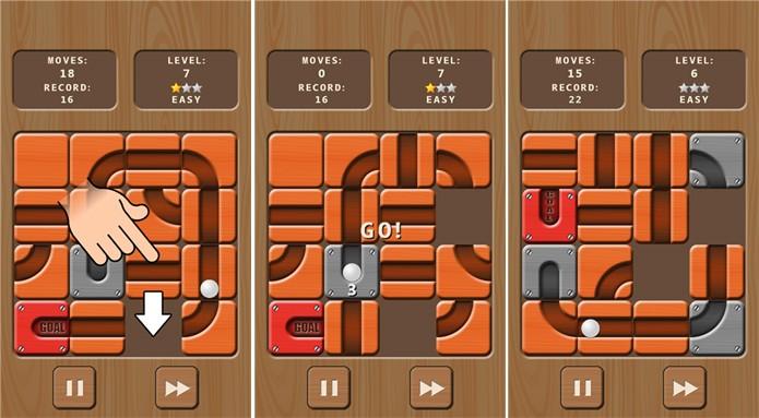 Unroll It é um jogo gratis para Windows Phone que desafia sua agilidade e raciocínio (Foto: Divulgação/Windows Phone Store)