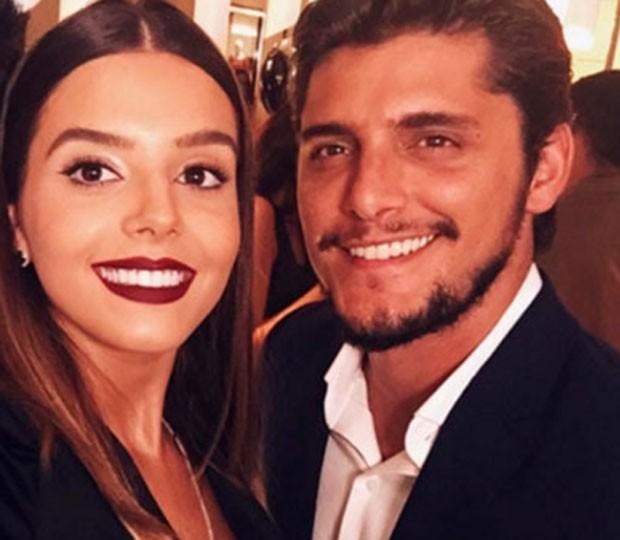 Giovanna Lancellotti e Bruno Gissoni  (Foto: Reprodução)