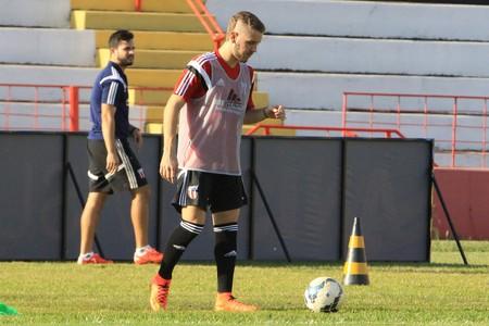 Vitor Hugo Botafogo-SP (Foto: Luis Augusto/Ag. Botafogo)