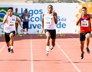 Estudante brasileiro bate recorde sul-americano dos 100m rasos: 10s30 (Foto: Divulgação)
