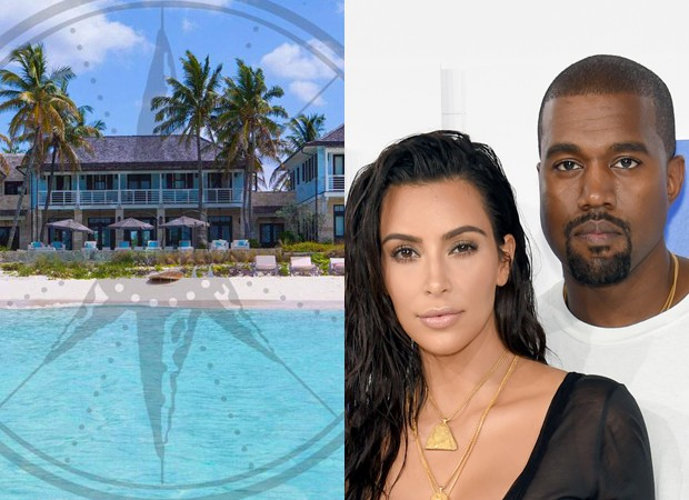 Kim Kardashian e Kanye West ficaram hospedados em Barbados no Baker's Bay Golf and Ocean Club  (Foto: Getty Images e Divulgação/Baker's Bay Golf and Ocean Club )