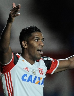 Berrio - Fla x San Lorenzo (Foto: Staff Images/Flamengo)