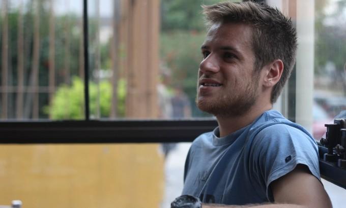 Ramiro, volante do Grêmio (Foto: Diego Guichard)