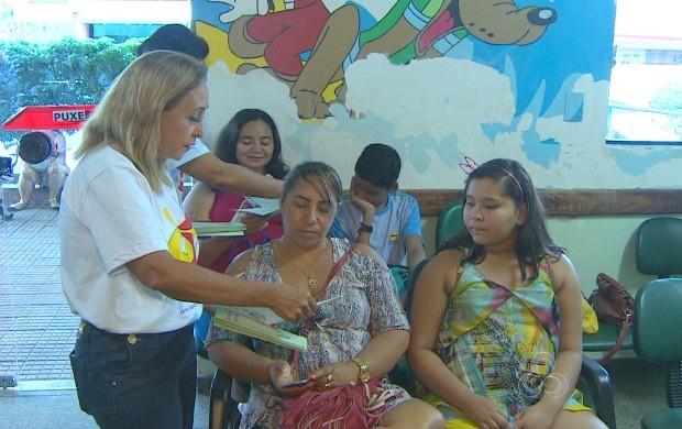 Médicos visitaram hospitais de Macapá e Santana pela camapnha de conscientização (Foto: Bom Dia Amazônia)