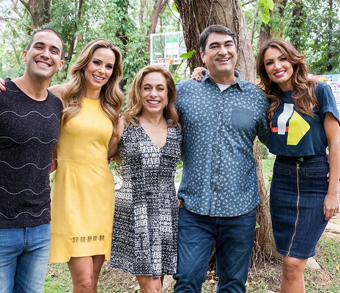 Apresentadores do É de Casa (Foto: Sergio Zalis (TV Globo))