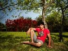 Ex-obeso, filho de Wagner Montes e Sônia Lima mostra que está em forma em fotos para o EGO