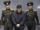 Pastor canadense preso na Coreia do Norte cava buracos o dia todo