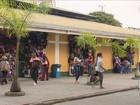 Dez dias após incêndio atingir lojas, camelódromo reabre em Florianópolis