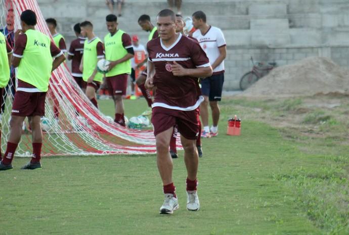 América-RN - Danilo Baia, lateral-direito (Foto: Canindé Pereira/Divulgação)