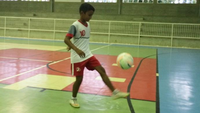 "Josué ""Foguetinho"" - Futsal (Foto: Luiz Henrique/GloboEsporte.com)"