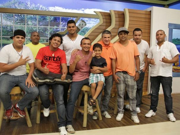 O samba tomou conta do É bem MT neste sábado (09) (Foto: TVCA)