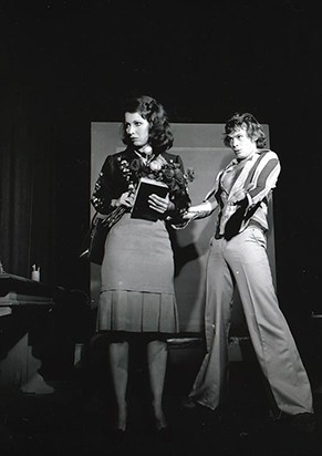Neila Tavares e José Wilker em 'Anti-Nelson Rodrigues' (Foto: CEDOC)