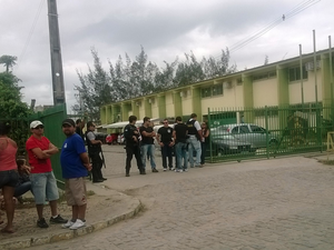 Segundo SDS, vereadores ocuparão duas celas da penitenciária (Foto: Renata Torres/TV Asa Branca)