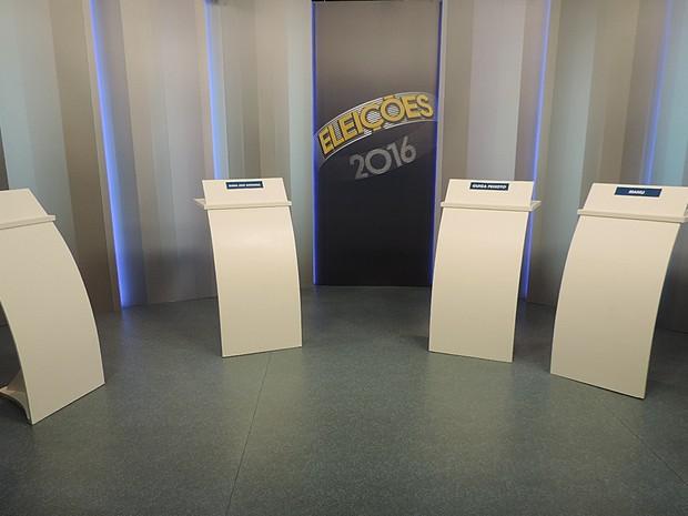 Candidatos debatem propostas para a Prefeitura de Tatuí (Foto: Wilton Tormena/G1)