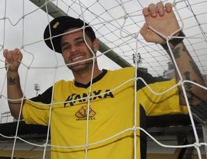 Silvinho Criciúma atacante (Foto: João Lucas Cardoso)