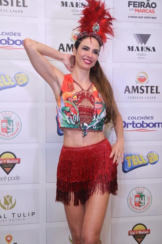 Luciana Gimenez (Foto: Daniel Pinheiro/AgNews )