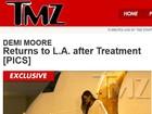 Demi Moore é clicada pela primeira vez após passar por reabilitação