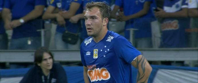 Willian Farias, volante do Cruzeiro (Foto: Reprodução / Sportv)