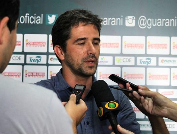 gerente de futebol, Rodrigo Pastana, Guarani