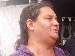 Sheila lamentou a morte do filho (Foto: Rafaella Mendes / G1)