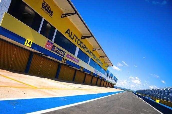 Autódromo de Goiânia (Foto: O Popular)