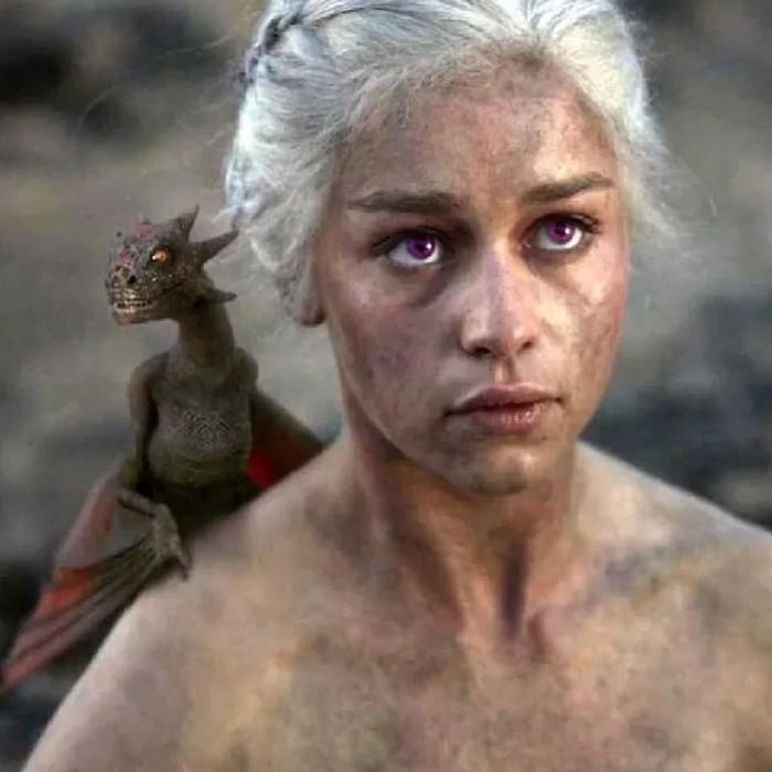 Daenerys Targaryen: como seria a personagem se 'Game of Thrones' seguisse os livros à risca (Foto: Reprodução/Reddit)