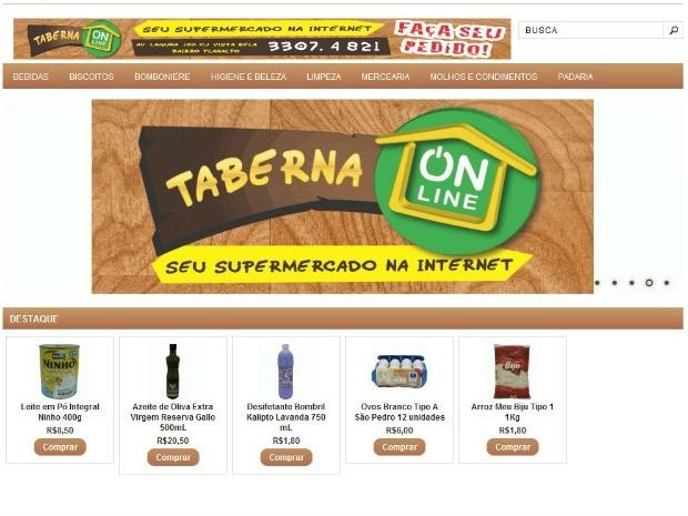 Taberna Online atende a três zonas de Manaus (Foto  Divulgação Taberna  Online) 356e63b7458