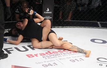 Vitória de Amanda Ribas deixa vago cinturão peso-palha do Jungle Fight