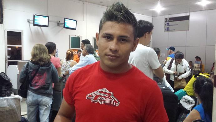 Ricardinho, atacante do Gavião (Foto: Weldon Luciano/GloboEsporte.com)