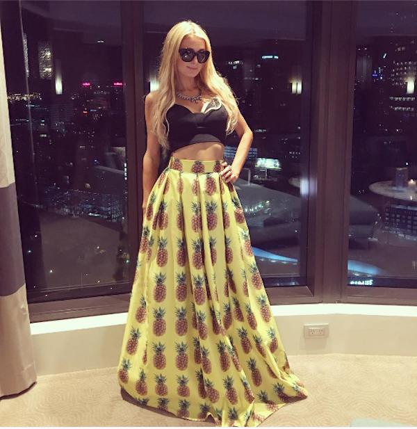 A celebridade Paris Hilton (Foto: Instagram)