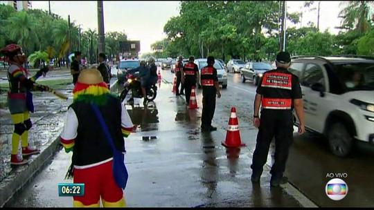 Dia do Motociclista é marcado por blitz e ações educativas no Recife