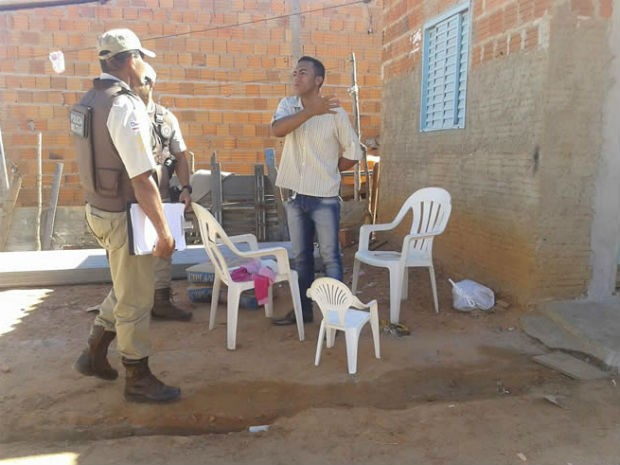 Criança bala perdida  (Foto: Jonivaldo Barbosa/Blog do Sigi Vilares)