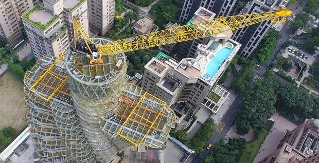 A construção do Agora Gardens deve ser concluída até o final de 2017 (Foto: Vincent Callebaut Architectures)
