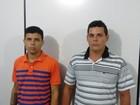 Polícia prende em Pilar, AL, dois suspeitos de cometer homicídios