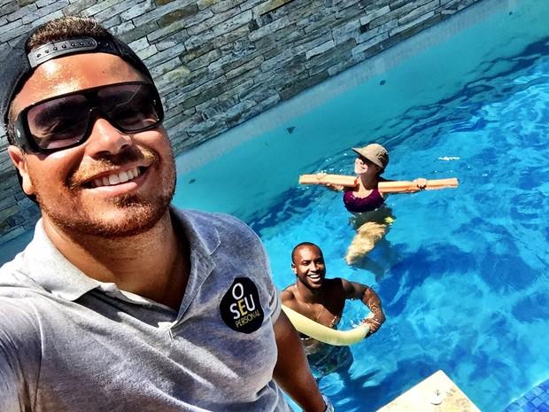 Fernanda Souza e Thiaguinho (Foto: Instagram / Reprodução)