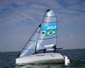 B. Landgraf e Marinalva Ferreira ficam em 15º em evento de vela na Holanda