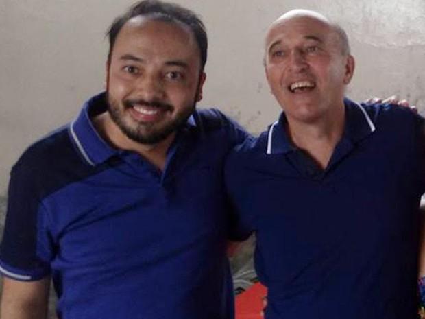 Luccas Inague Rodrigues e Júlio Omar Rodrigues (Foto: Reprodução/Facebook)