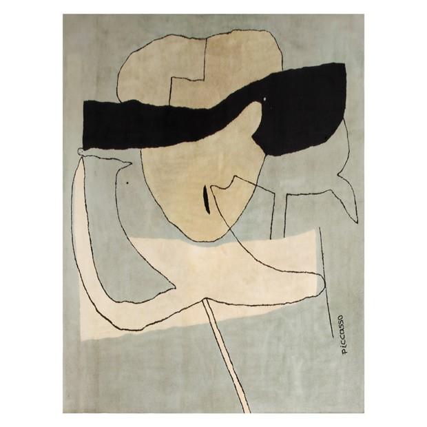 Tapete de Pablo Picasso, da década de 1950, a venda no Thomaz Saavedra (Foto: Divulgação)