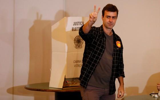 O candidato do PSOL à prefeitura do Rio de Janeiro, Marcelo Freixo (Foto:  Pablo Jacob / Agencia O Globo)
