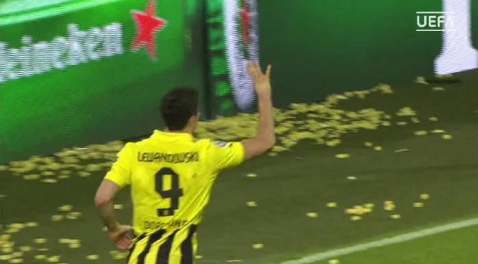Lewandowski, Borussia Dortmund Real Madrid